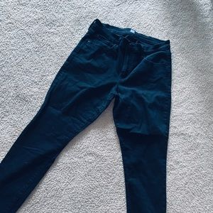 All black gap jeans